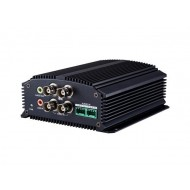 DS-6704HWI Videoenkoder IP 4 x video, 25kl./s@WD1, 4 x audio, RS-485, mikro SD